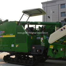 Fuel-efficient price efficient threshing rice harvester